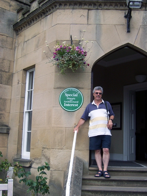 Brian at Willersley - by Robyn